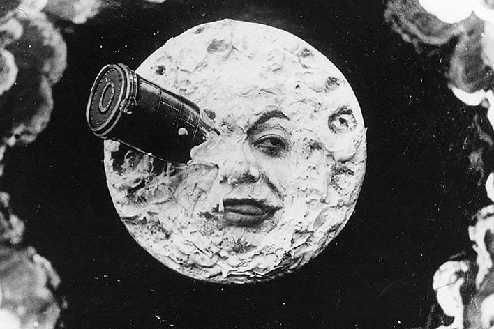 Georges Méliès 'A Trip to the moon (Le Voyage dans la lune)'  1902, Australian Centre for the Moving Image - still - website